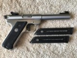 Ruger MKII Stainless, Bull Barrel Target
