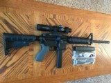 Rock River Arms LAR-9 with Leupold SPR Fire Dot Optic