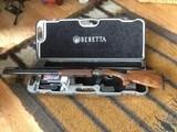 Beretta 692 X Trap O/U 30 inch barrels; B-Fast