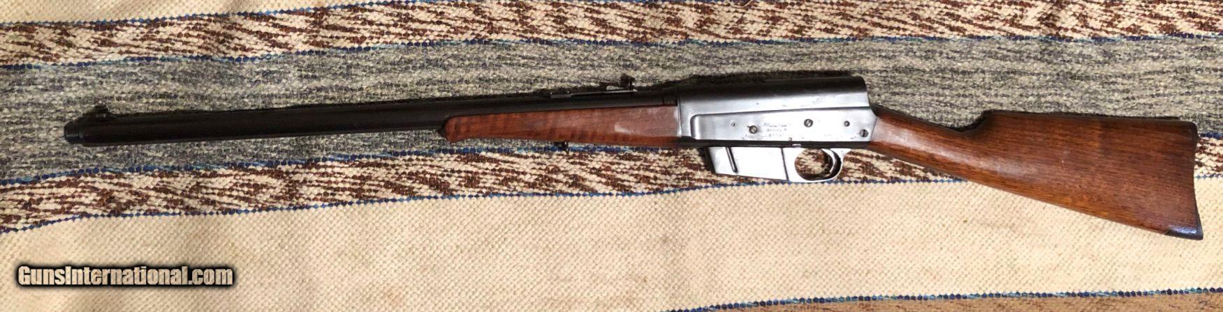 M8 Remington semi automatic rifle 25 caliber 1931 RARE