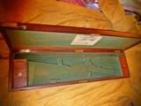 Original PURDEY: 19th Century Walnut or Mahogany Antique English Gun Case