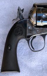 Colt SAA Bisley, .38 WCF, mfg, 1908 - 3 of 13