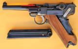Mauser Luger Cutaway Pistol - 4 of 9