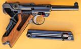 Mauser Luger Cutaway Pistol - 2 of 9