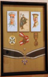 World War I Militaria Shadow Box - 1 of 9