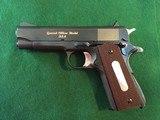 colt/Rock island arsenal General Officers pistol Model 15