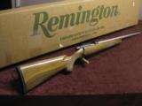 CUSTOM REMINGTON 504 .22LR - XX-FANCY WALNUT STOCK - LILJA STAINLESS BARREL -JEWELED & CHECKERED BOLT - MINT ! - 1 of 11