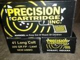 Precision Cartridge .41 Long Colt