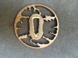 ANCIENT TSUBA in Iron for KATANA with some lacks - 1 of 2