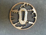 ANCIENT TSUBA in Iron for KATANA with some lacks - 2 of 2