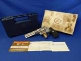 "Colt Python Factory BSTS w/ Original Box 6"" 1995"