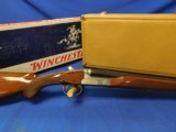 NIB Winchester model 23 XTR Pigeon 20ga 28 inch Win Case and Orig Box w/ papers 99%+