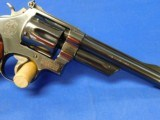 Smith & Wesson 27-2 357 Mag 6in Checkered Top wood display 1973 - 5 of 22