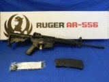 """Ruger AR-556 5.56nato 16"""" orig box pre-owned"""