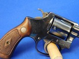 Scarce Smith & Wesson 33 Regulation Police Early Post War Flat Latch Improved I frame Square Butt 1957-60 38 S&W - 4 of 25