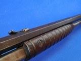 Pre-war Remington model 12 made 1929 22 caliber Octagon barrel crescent butt - 24 of 25