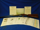 Scarce and Desirable Custom Ordered Abercrombie & Fitch Francotte Knockabout 28ga with Documents made 1959