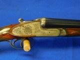 AYA model 116 7 Pin Sidelock 12 gauge