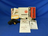 Like New Ruger LCR 22 WMR with box and everything