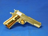 Original Colt 70 Series Government model factory Nickel 1975 45 ACP