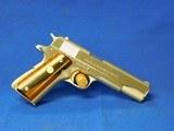 Original Colt 70 Series Government model factory Nickel 1975 45 ACP