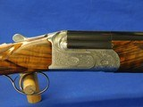 Famars Abbiatico & Salvinelli Excalibur BL 12 gauge 29.75 inch barrels Hui Zhang Engraved