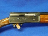 Belgium Browning A5 Light Twelve 12ga 25.5 inch vent rib 1967