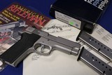 Collector Items Smith & Wesson 1076 10mm loaned to Charles Petty For American Rifleman Magazine