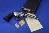 Pre-War 1st Issue Colt Police Positive Special in the original box with manual and hang tag 1922
