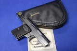 factory fired only 1968 belgium made browning baby 25 auto w/ case & manual