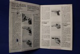 Scarce Original Mateba model 1 9mm pistol Manual - 2 of 5