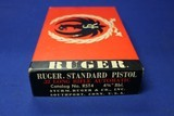 Excellent Condition Ruger MK 1 22 Automatic Box 1971 - 2 of 10