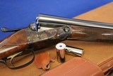 As New Condition Winchester Parker Reproduction DHE 12 gauge 26 In Unfired