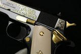 1 of 79 NIB Lew Horton Exclusive Colt Government 38 Super Factory Engraved with Letter - 7 of 23
