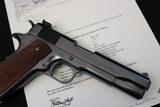 1942 Pre-war Colt Service Model Ace 22LR 99% Condition