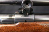1938 Pre-war Winchester model 70 22 Hornet w/ Lyman TargetSpot 20x scope - 5 of 22