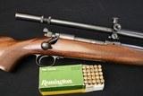 1938 Pre-war Winchester model 70 22 Hornet w/ Lyman TargetSpot 20x scope - 1 of 22