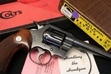 (Sold)1969 Colt Officers Model Match 22LR Heavy barrel in the Box