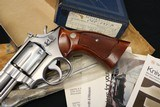 Flat out NIB 1974 S&W 66 NO Dash 357 Mag complete w/ original box, all manuals, sealed cleaning kit!