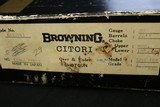 (Sale Pending 5/9/2019) LNIB 1979 Browning Citori 20ga, SST, Auto Eject, Schnable Forend, Straight Stock Factory Original - 22 of 22