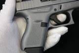 Like New Glock 42 380 Factory Gray w/ box & papers 3 dot Tridium Night Sights - 15 of 20