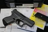 Like New Glock 42 380 Factory Gray w/ box & papers 3 dot Tridium Night Sights
