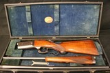 1929 Original Condition Savage 1899 Takedown 250-3000 and 410 gauge 2 barrel Cased Set Factory Finish - 1 of 21