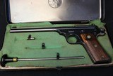 Collectors Original Smith & Wesson Straight Line 22 3 digit SN original metal Box and tools