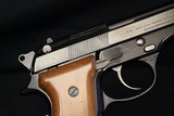 (Sold 8/10/2019) 1980 made Beretta 92S factory Box, paperwork 9mm Original Condition Not Police Turn in Euro Mag Release Decocker - 5 of 23