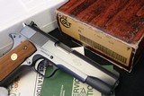 Factory Fired 1979 Colt ACE 22LR with Factory Numbered Box and Paperwork - 1 of 23