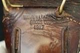 (Sold) Original 1917 GWS Warren Leather Goods Co. 1911 World War 1 Holster - 10 of 12