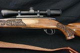 Weatherby MK V Lasermark 300 WBY Mag Deluxe wood Factory Carved Nikon Scope Leupold Base & Rings Weatherby Sling - 10 of 23