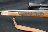 Weatherby MK V Lasermark 300 WBY Mag Deluxe wood Factory Carved Nikon Scope Leupold Base & Rings Weatherby Sling - 11 of 23
