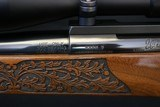 Weatherby MK V Lasermark 300 WBY Mag Deluxe wood Factory Carved Nikon Scope Leupold Base & Rings Weatherby Sling - 12 of 23